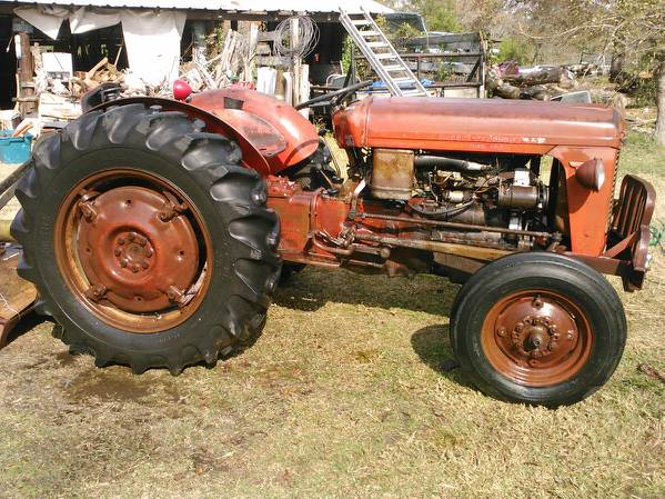 Massey Ferguson MF35 tractor factory workshop and repair