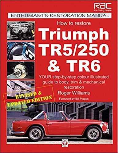 Triumph TR5 TR250 TR6 1967 1975 Service Repair Manual Glovebox