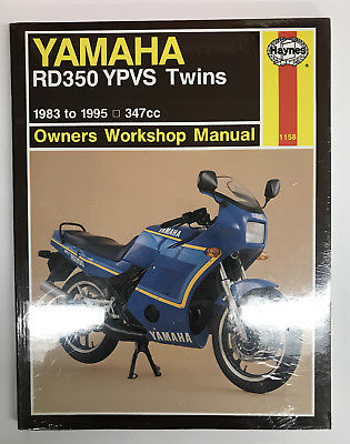 Yamaha RD350 YPVS Twins 1983 – 1995 Haynes Owners Service
