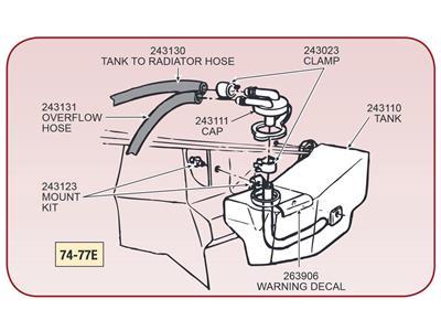 download 1964 Corvette Expansion Tank Caution Decal workshop manual