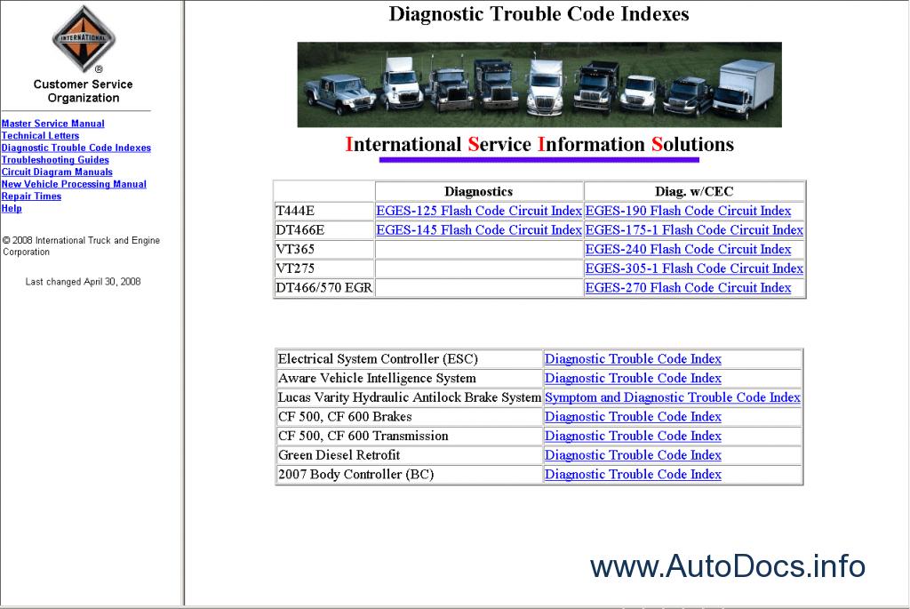 download 3700 International Truck workshop manual