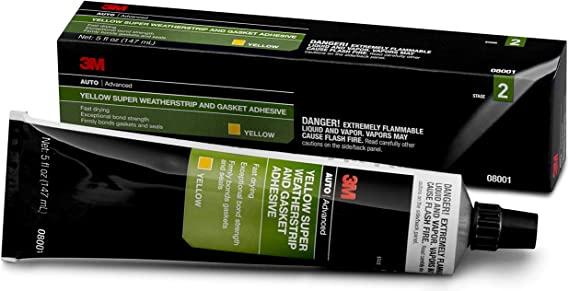 download 3M Weatherstrip Adhesive Yellow workshop manual