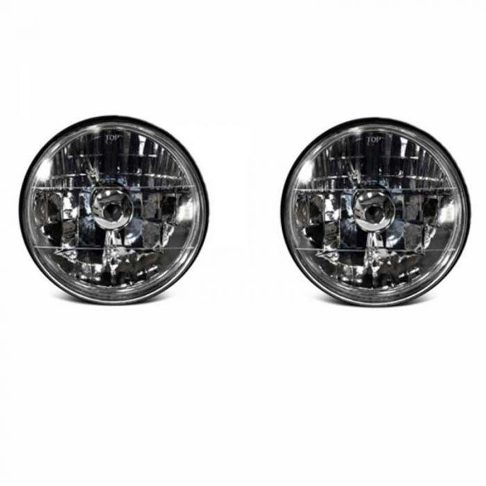 download 79 Ford Bronco 7 Inch Round White Diamond Halogen Headlight Assembly workshop manual