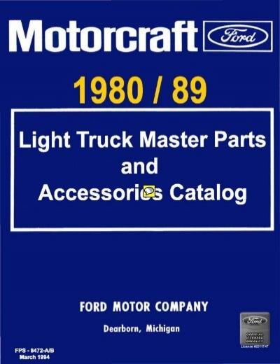 download 82 Ford Thunderbird Distributor Stator Assembly 200 6 Cylinder Engine workshop manual