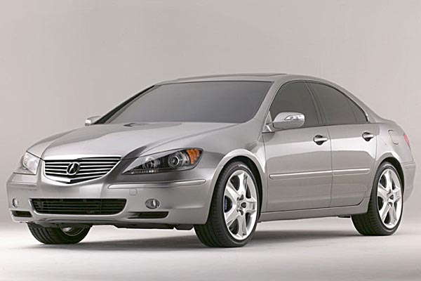 download Acura RL able workshop manual