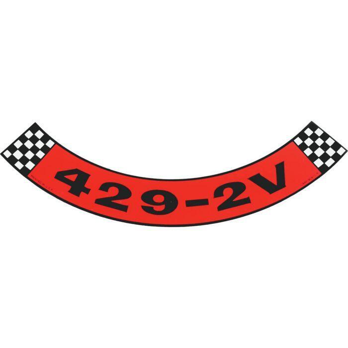 download Air Cleaner Decal 400 2V Mercury workshop manual