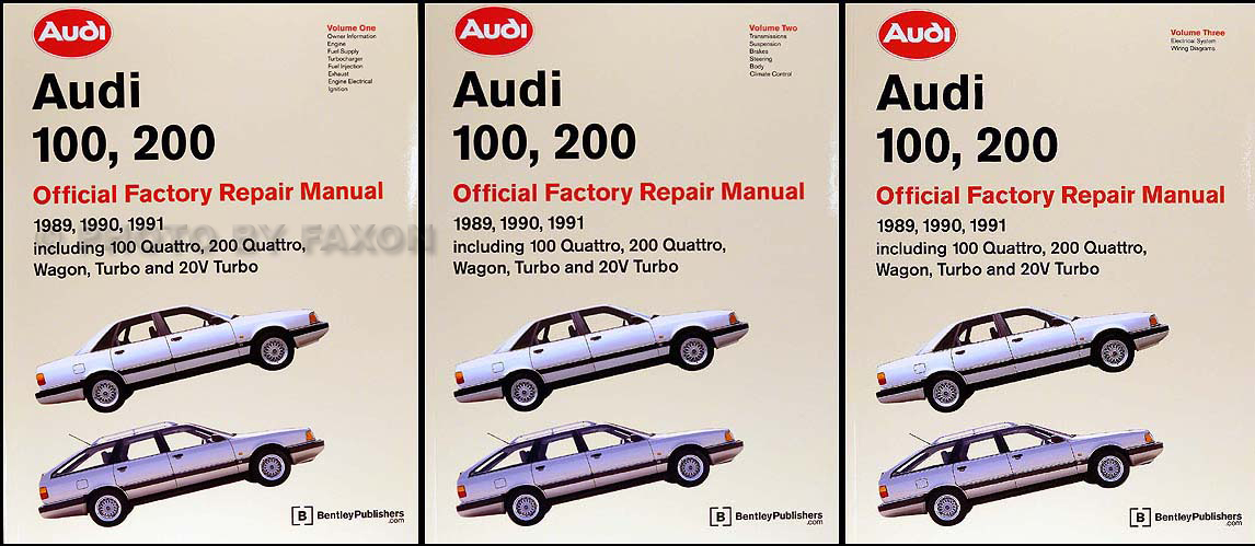 download Audi A100 200 workshop manual
