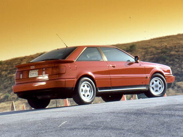 download Audi Coupe Quattro workshop manual