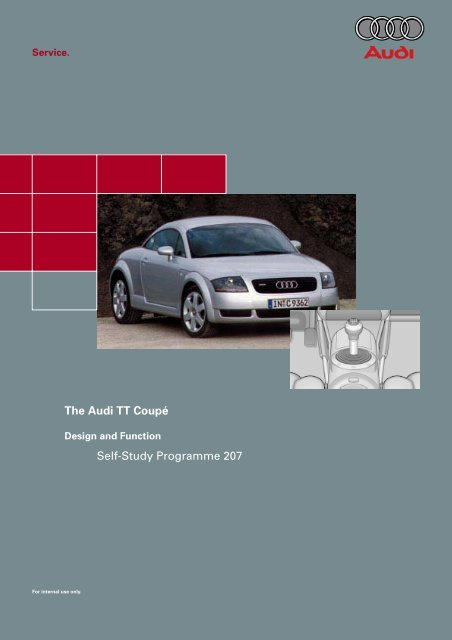 download Audi Turbo Quattro Coupe Introductory Training Maint workshop manual