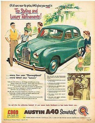 download Austin A40 Somerset workshop manual