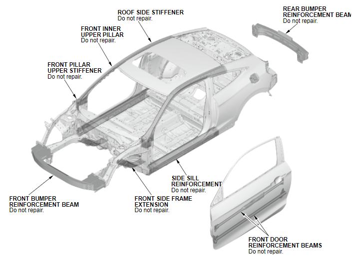 download Auto Metal Direct Body Cross Rail Extension Left Rear workshop manual