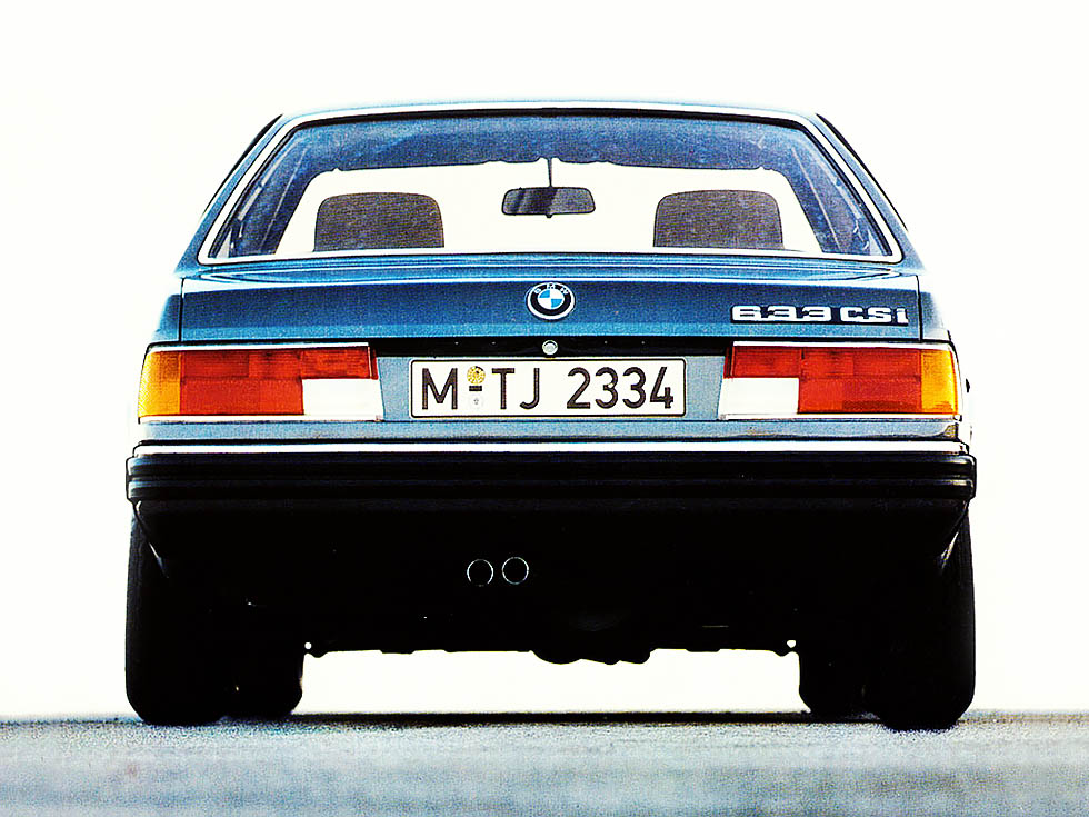 download BMW 633CSI 635CSI M6 E24 workshop manual