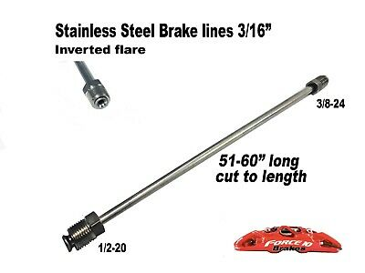 download Brake Line Front Disc Caliper Right Steel 3 8 x3 8 workshop manual