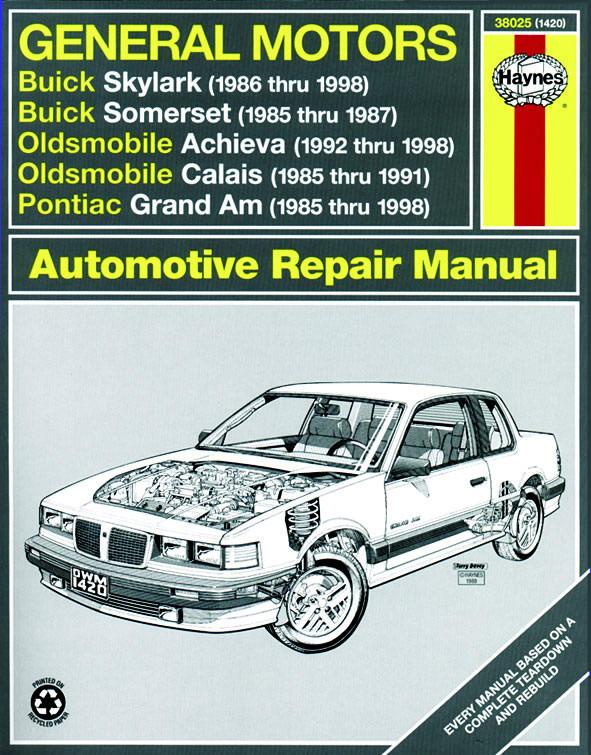 download Buick Somerset workshop manual