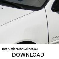 download CHEVROLET SPRINT L3 workshop manual