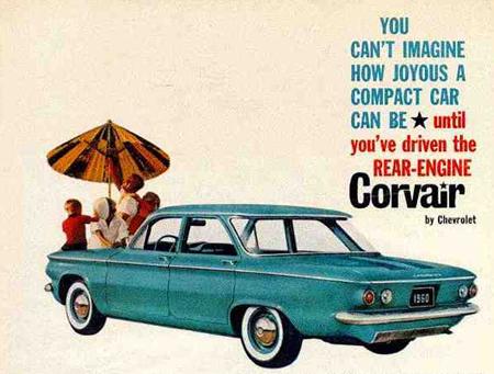 download CORVAIR CAR workshop manual