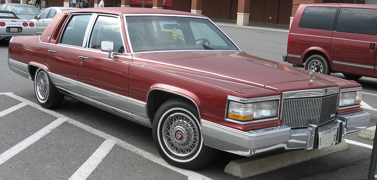 download Cadillac Brougham workshop manual