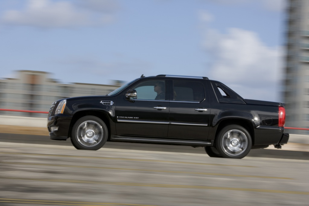 download Cadillac Escalade EXT workshop manual