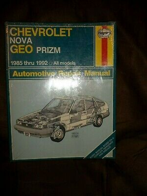 download Chevrolet Prizm workshop manual