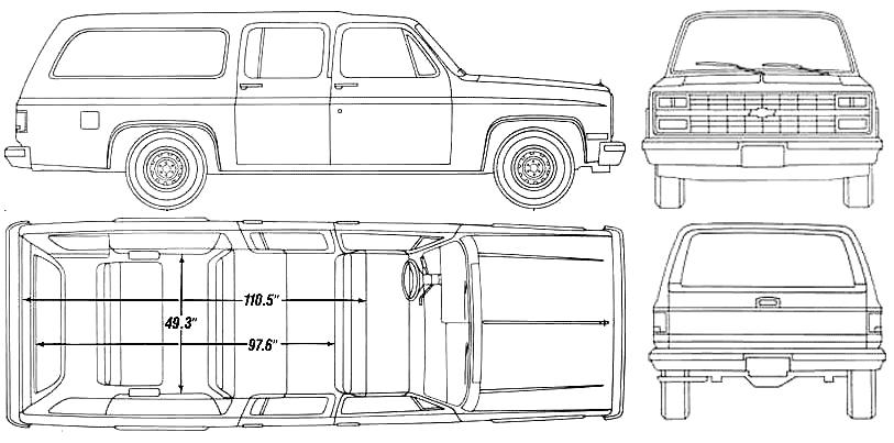 download Chevrolet R1500 Suburban workshop manual