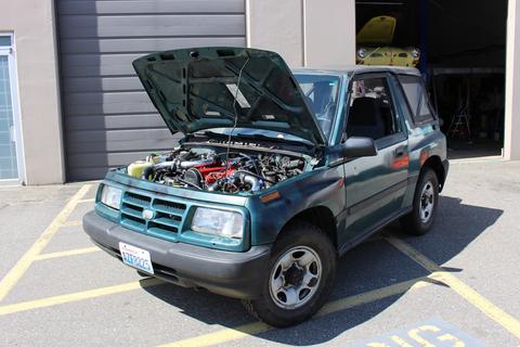 download Chevrolet Tracker workshop manual