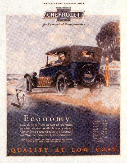 download ChevroletK 1925 Car workshop manual