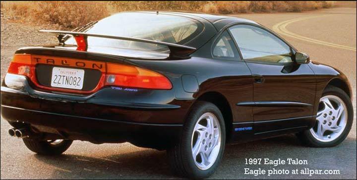 download Chrysler Laser Talon Engine Body Chassis workshop manual