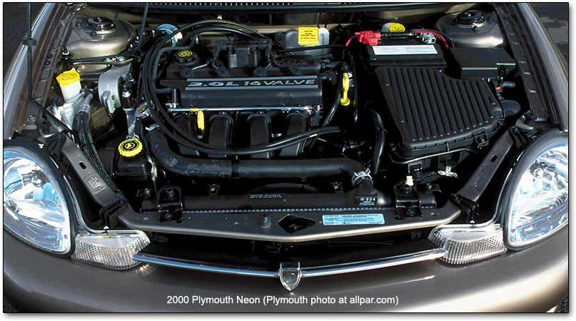 download Chrysler Neon workshop manual