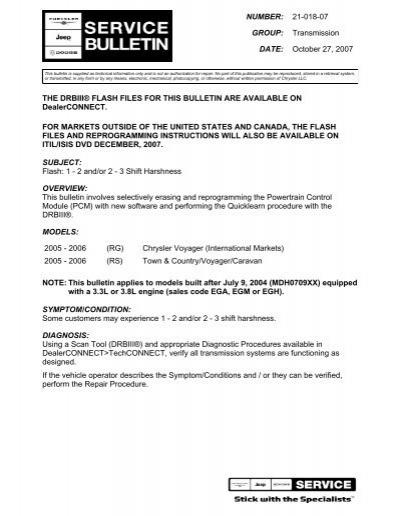 download Chrysler RS workshop manual