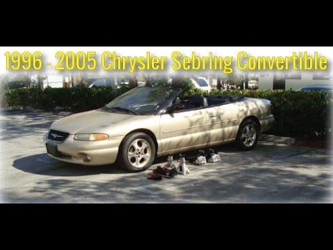 download Chrysler Stratus Convertible workshop manual