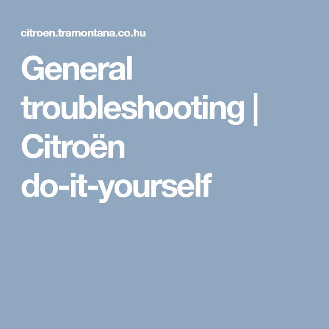 download Citroen BX II Original workshop manual
