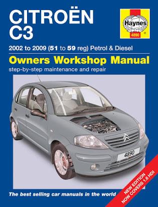 download Citroen C3 workshop manual