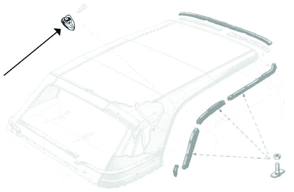 download Convertible Top Rear Rail Water Deflector Ford Only workshop manual