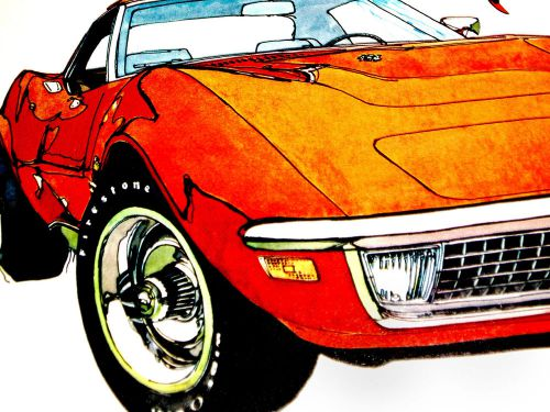download Corvette 350 396 workshop manual