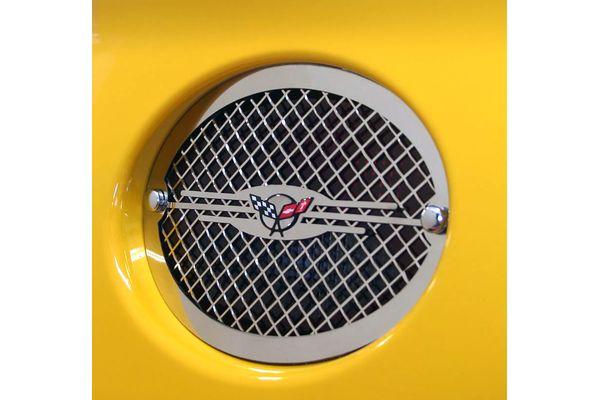 download Corvette American Car Craft 3rd Brake Light Louver Flame Stainless Steel workshop manual