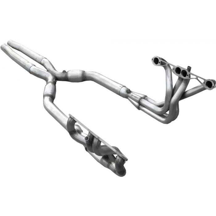 download Corvette American Racing Headers 1 inch x 3 inch Length Headers With 3 inch X Pipe Cats Off Road Use Only workshop manual