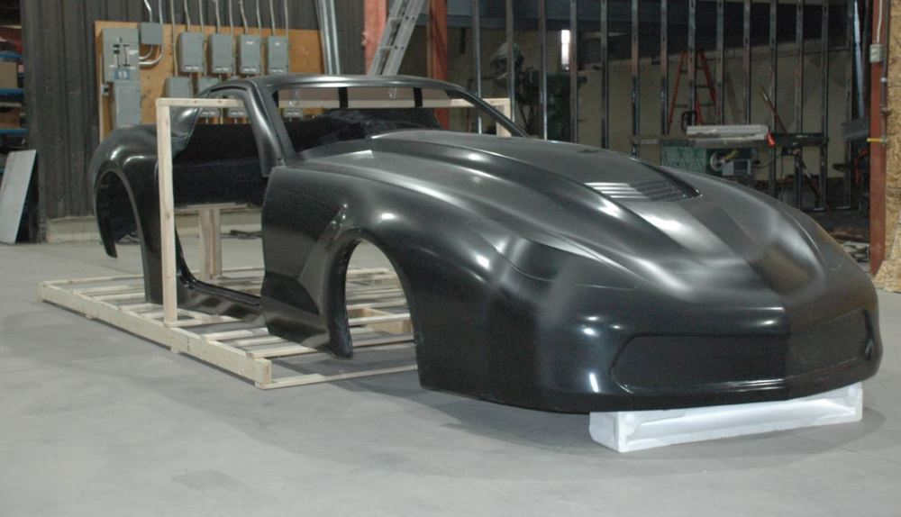 download Corvette Body Exhaust Tunnel Rear Right workshop manual