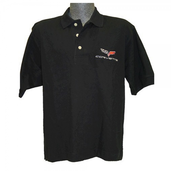 download Corvette C1 Custom Embroidered Mens Pima Cotton Polo Red workshop manual