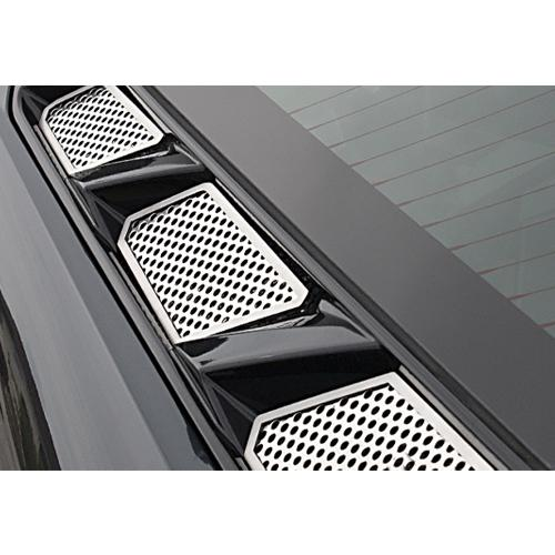 download Corvette C8 Perforted Rear Vent Inserts Polished Stainess Steel workshop manual