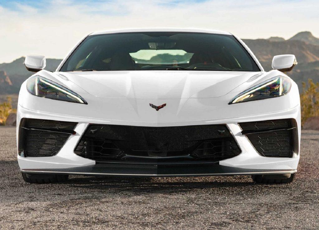 download Corvette Concept7 Carbon Fiber Front Splitter workshop manual