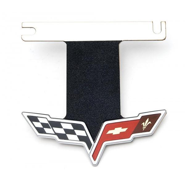 download Corvette Exhaust Enhancer Plate With Black Acrylic C5 Logo workshop manual