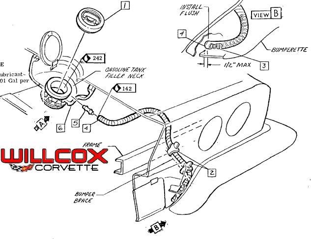 download Corvette Gas Tank Overflow Hose Spring workshop manual