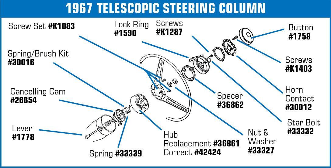 download Corvette Horn Button Contact Without Tilt Telescopic Column workshop manual