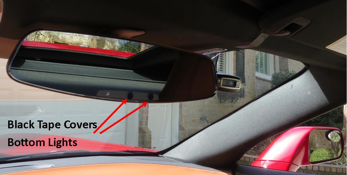 download Corvette Inside Rear View Mirror workshop manual