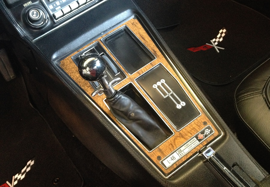 download Corvette Shifter Console Trim Plate Cars With Automatic Transmission Air Conditioning workshop manual