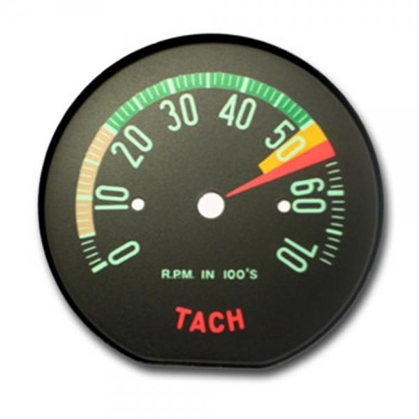 download Corvette Tachometer Face Lo RPM workshop manual