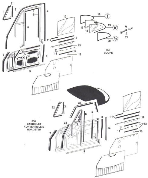 download Coupe Quarter Door Frame Assembly Left workshop manual