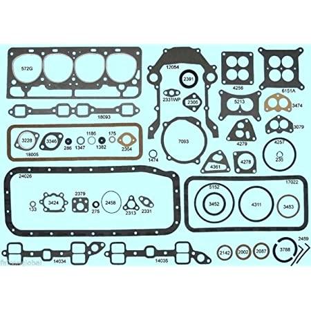 download Cylinder Head Gasket 292 312 V8 Ford Mercury workshop manual