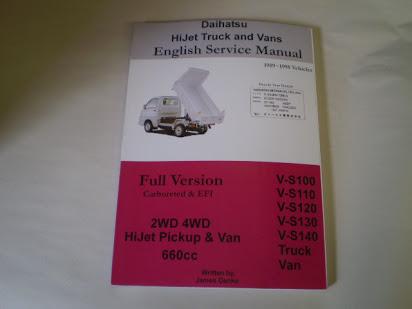 download DAIHATSU S85 HIJET workshop manual