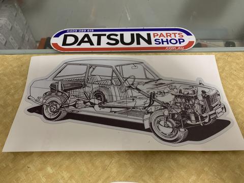 download DATSUN 1000B10 workshop manual